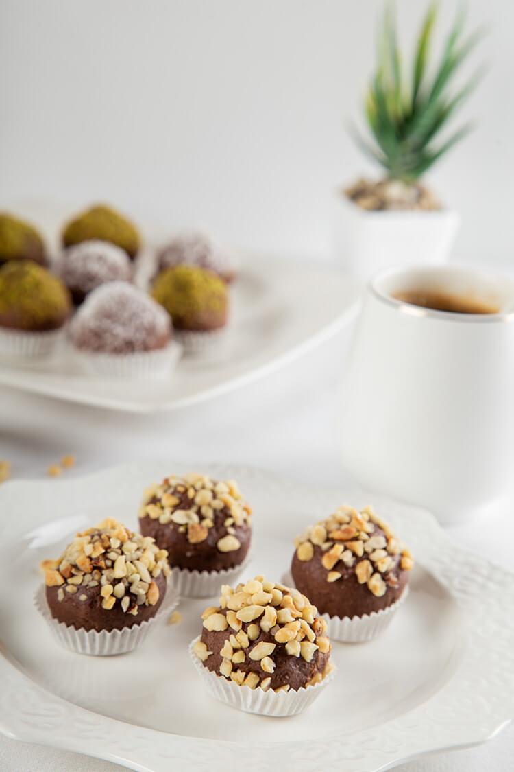 Glutensiz Çikolatalı Truf 500gr