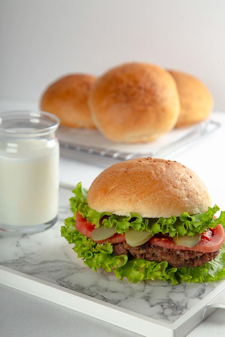 Glutensiz Hamburger Ekmeği 90gr X 5ad