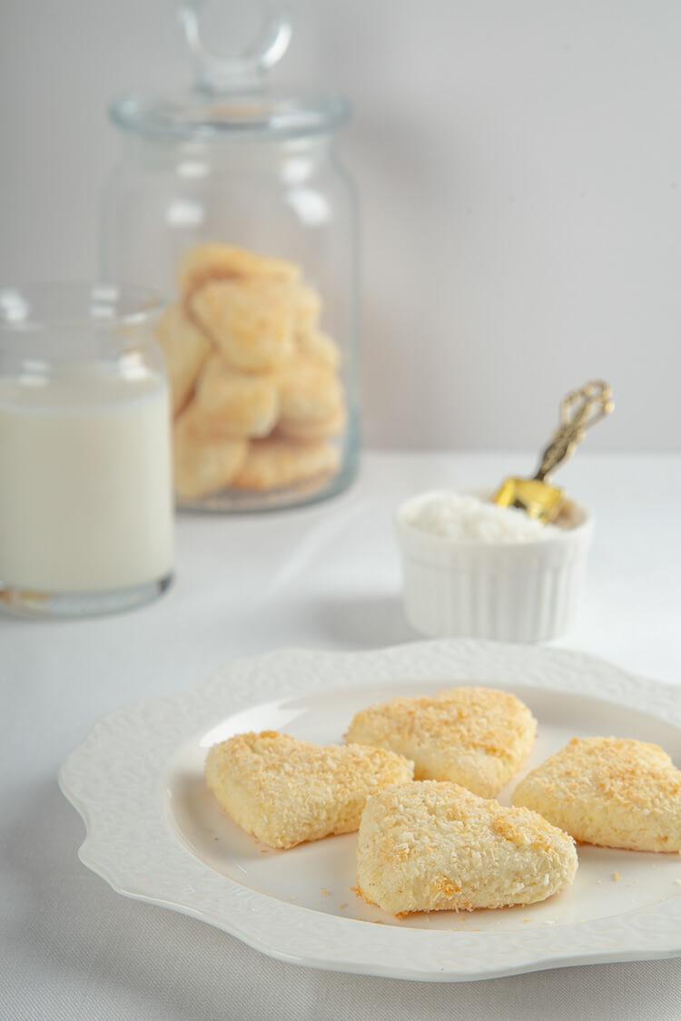 Glutensiz Hindistan Cevizli Bisküvi