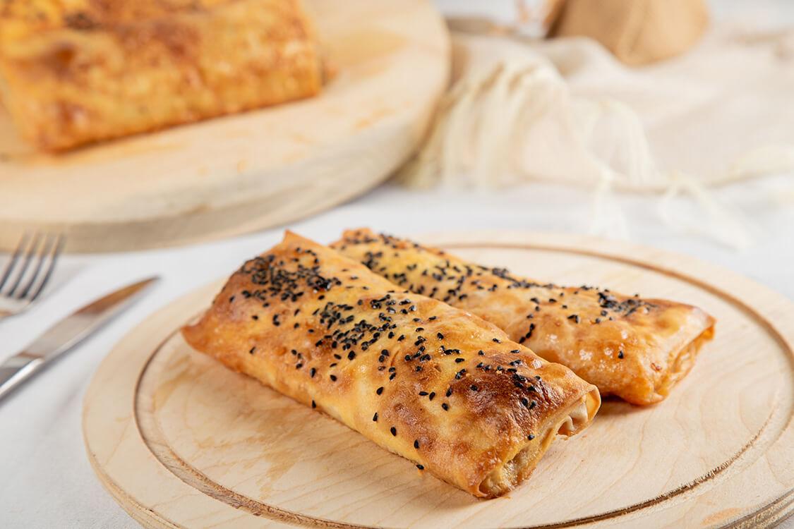 Glutensiz Patatesli Sarma Böreği 4adet