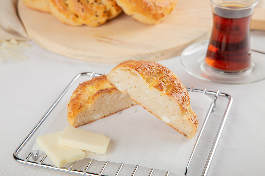 Glutensiz Peynirli Açma 120gr X 3ad